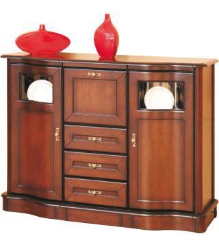 Obývací pokoj Fala [Vlna] domácí bar BK 3D3S - Nabytek Wanat