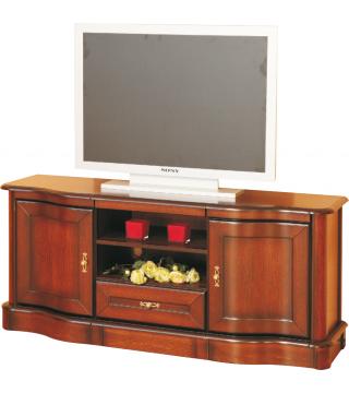 Obývací pokoj Fala [Vlna] stolek Televizní a hi-fi 2D1S