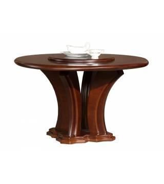 Lazuryt Stůl Kulatý z Otáčivým Deskou - Nabytek Wanat