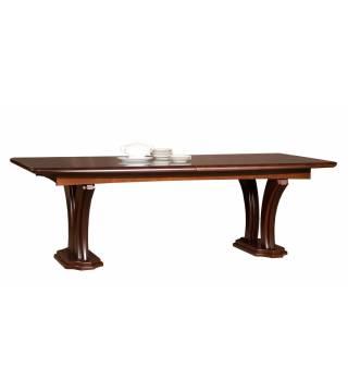 Lazuryt Stůl Velký / nohy sloupy - Nabytek Wanat