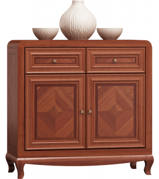 Skříňový nábytek Luiza Komoda 100 2D2S - Nabytek Wanat