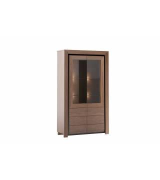 Obývací pokoj Sempre Vitrína dvojitá 2DS2D - Nabytek Wanat