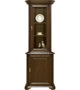 Ložnice Stylowa II vitrína W1D + komoda K1D rovná - Nabytek Wanat
