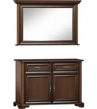 Ložnice Stylowa II zrcadlo L2D + komoda K2D2S - Nabytek Wanat