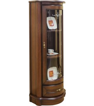 Obývací pokoj Wenus vitrína 1D1S