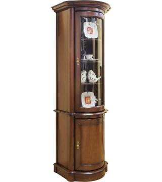 Obývací pokoj Wenus vitrína W1D rohová + komoda K1D rohová - Nabytek Wanat