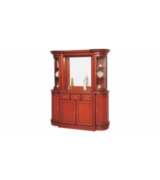 Obývací pokoj Wenus vitrína W2DL + komoda K4D3S