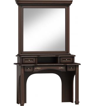 Wenus zrcadlo toaletní stolek LTW + nástavec NTW + toaletní stolek TW - Nabytek Wanat